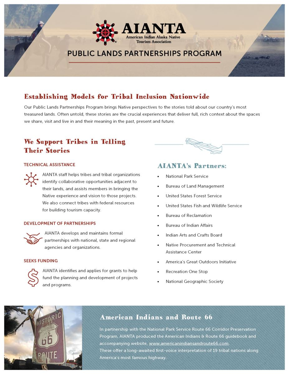 Public Lands Partnerships Program