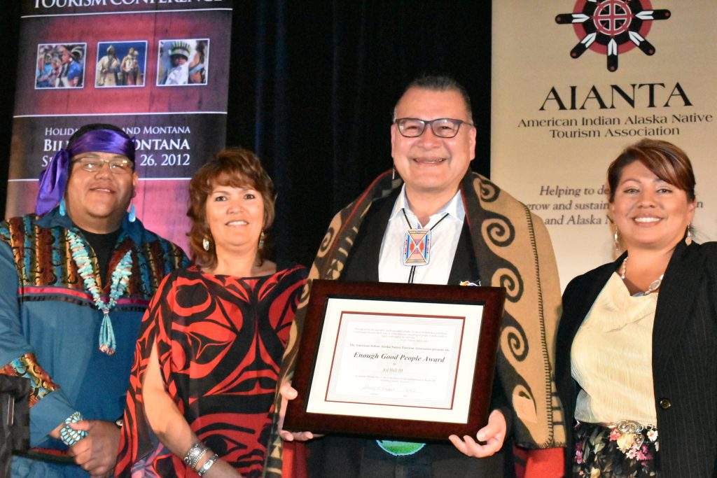Ed Hall receives AIANTA's Enough Good People Award // (c) 2018 AIANTA/Monica Poling
