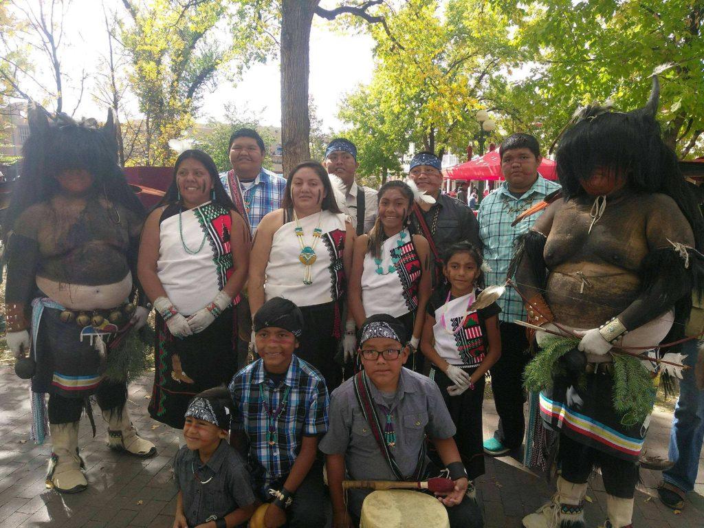 Laguna Hopi Buffalo Group