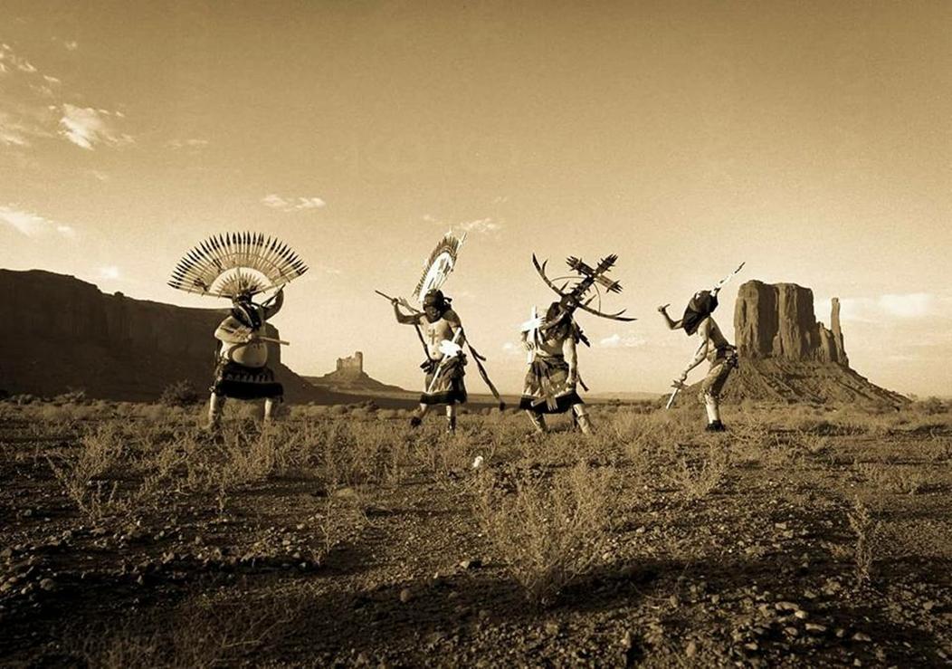 White Mountain Apache Crown Dancers
