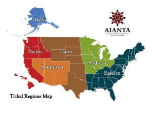AIANTA Regions Map