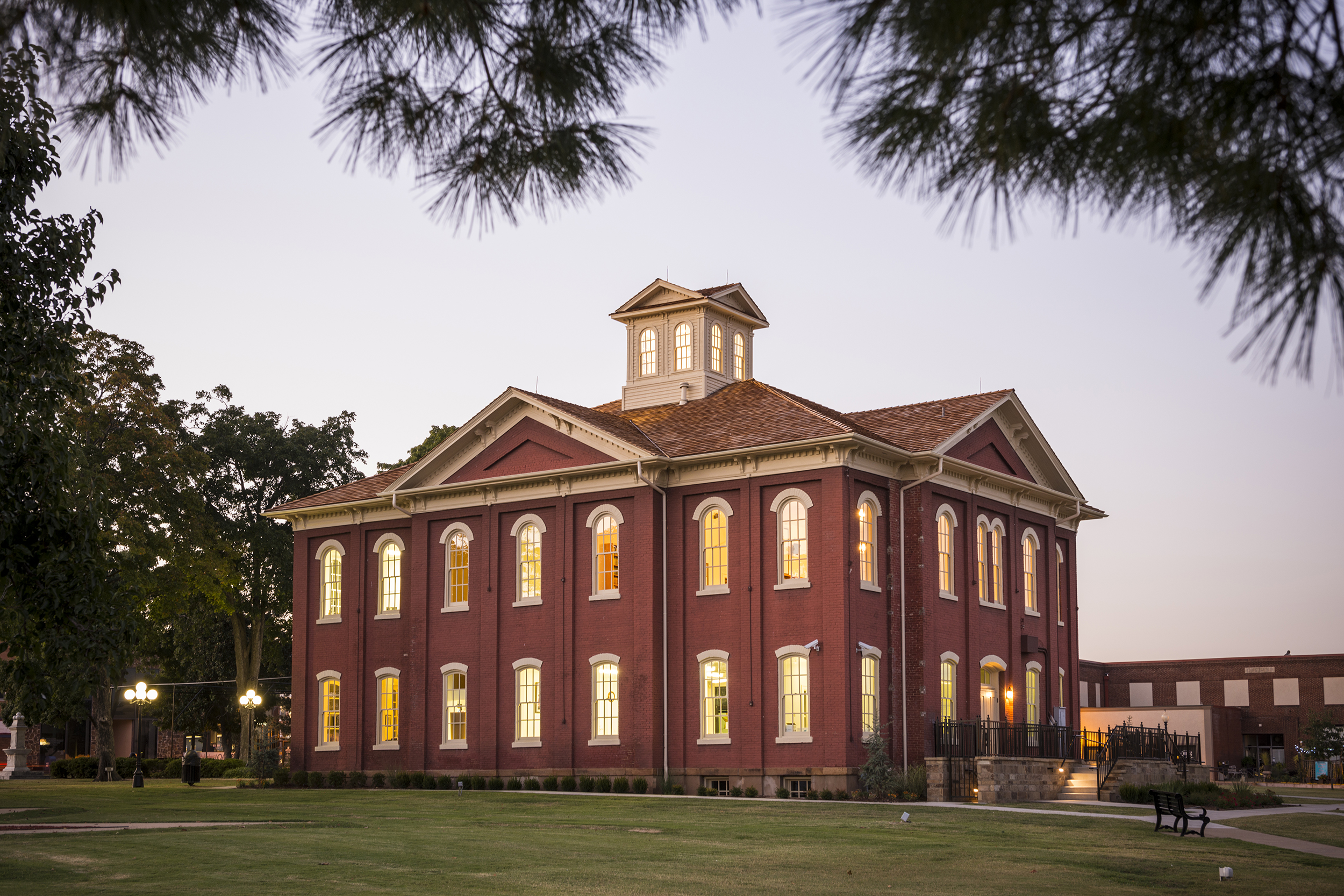 Cherokee Nation Capitol Building // credit: Cherokee Nation