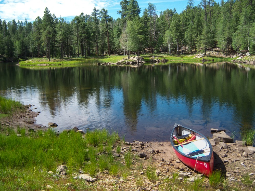 Knoll Lake, Coconino National Forest // USDA, Flickr.com