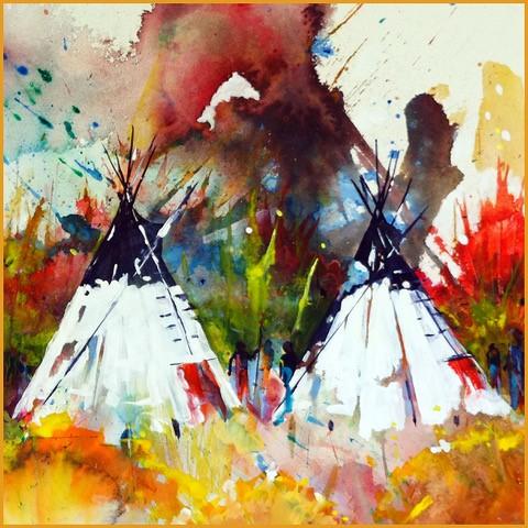 Native Art Show at AITC