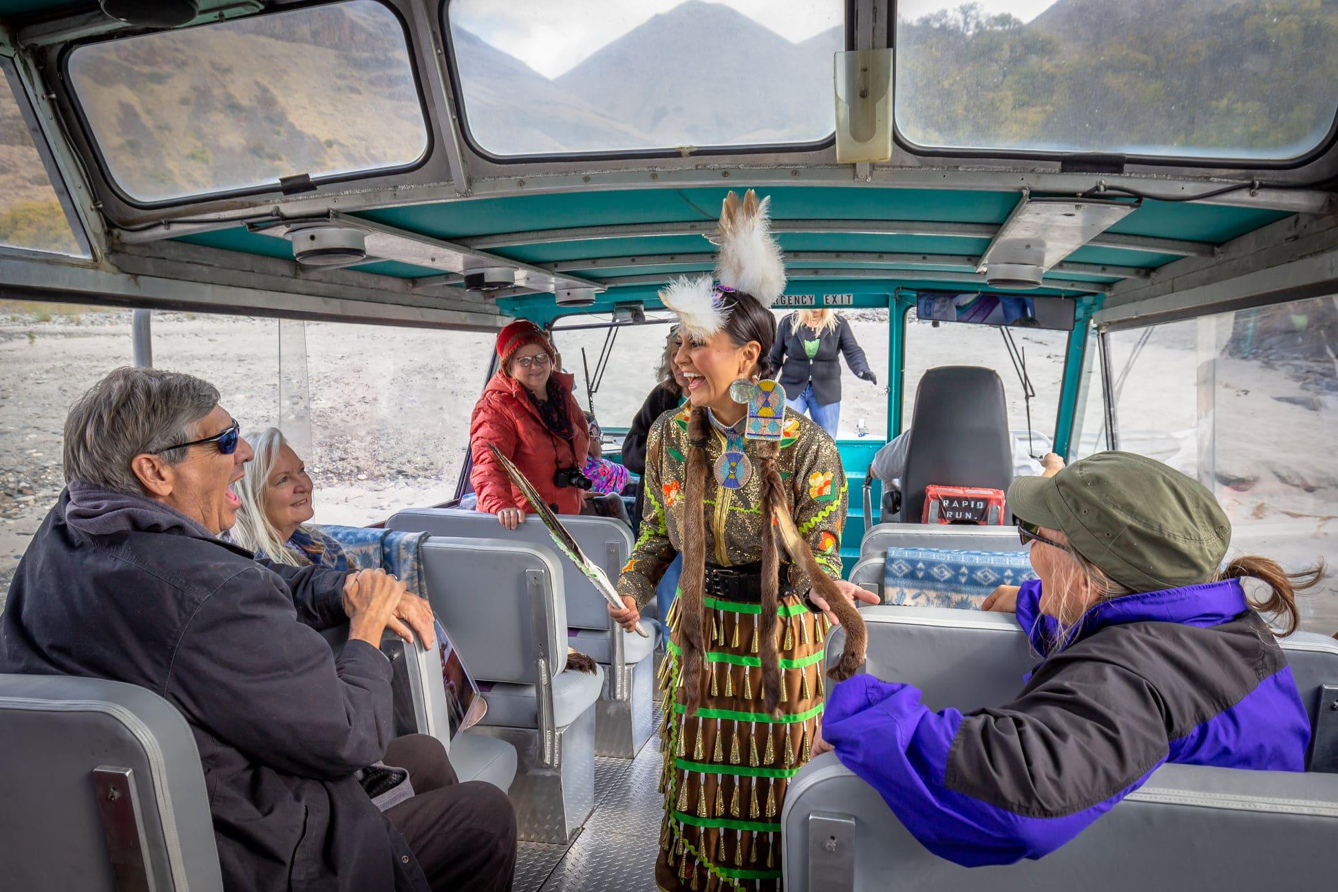 Nez Perce Tourism jet boat rides